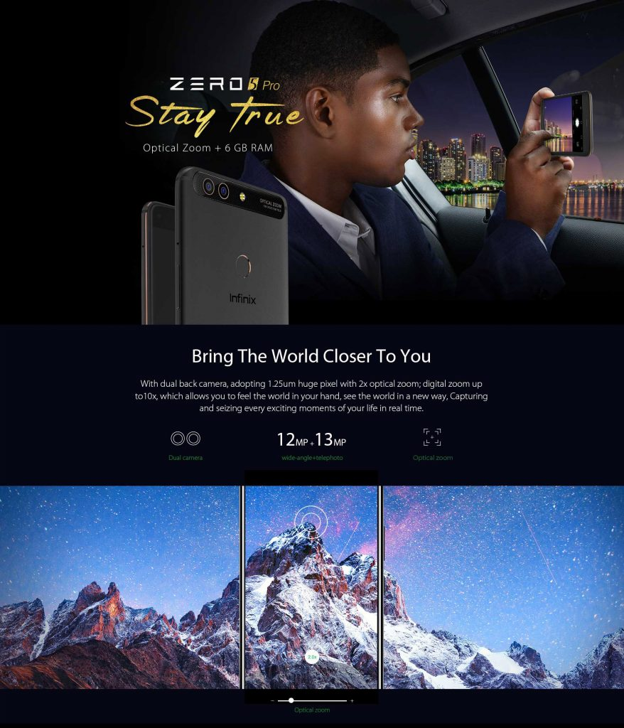 Infinix Zero 5 Pro ✓ Best Price Point in kenya.