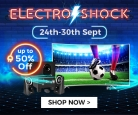 Electro Shock – Sales and Deals on TVs Up-To 50% OFF