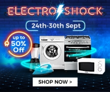 Electro Shock – Sales and Deals on Appliances Up-To 50% OFF