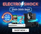 Electro Shock – Sales and Deals on Gaming Tools Up-To 50% OFF